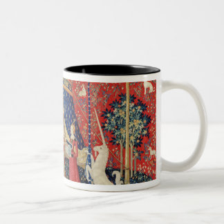 The Lady and the Unicorn: 'To my only desire' Two-Tone Mug