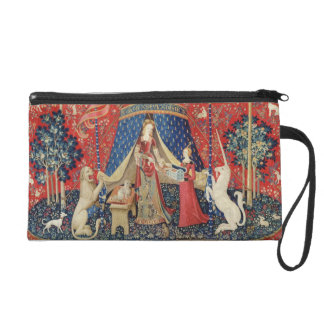 The Lady and the Unicorn: 'To my only desire' Wristlet Clutch