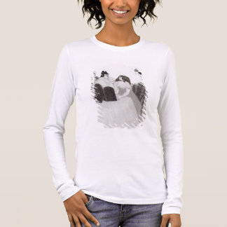The Lady at the Dressing Table (ink and wash) Long Sleeve T-Shirt