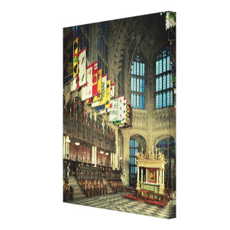 The Lady Chapel, begun in 1503 Canvas Print