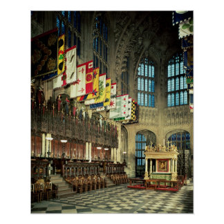 The Lady Chapel, begun in 1503 Poster