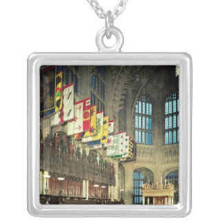 The Lady Chapel, begun in 1503 Square Pendant Necklace