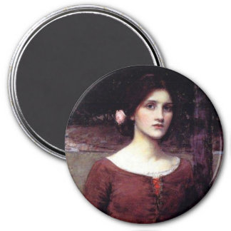 The Lady Clare 7.5 Cm Round Magnet