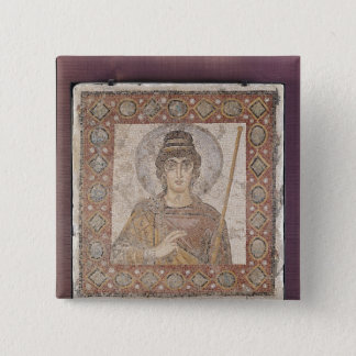 The Lady of Carthage 15 Cm Square Badge