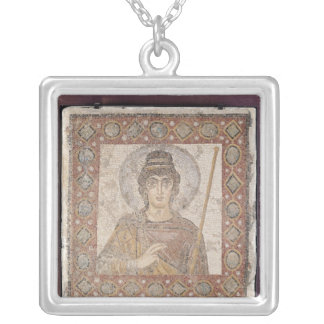 The Lady of Carthage Silver Plated Necklace