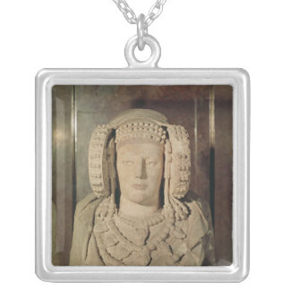 The Lady of Elche Silver Plated Necklace