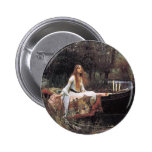The Lady of Shalott by John W. Waterhouse Buttons