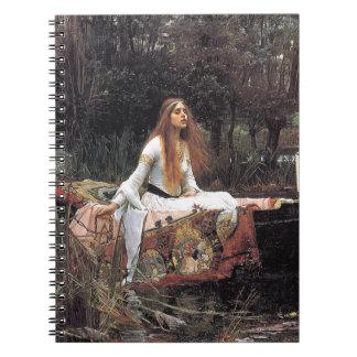 The Lady of Shalott by John W. Waterhouse Notebooks