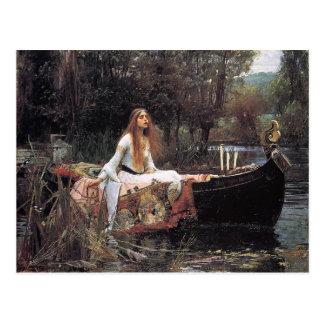 The Lady of Shalott by John W. Waterhouse Postcard