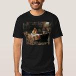 The Lady of Shalott by John William Waterhouse T-shirts