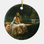 The Lady of Shalott (On Boat) by JW Waterhouse