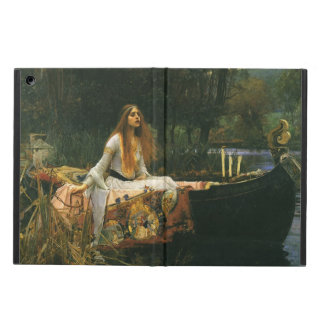 The Lady of Shalott On Boat by JW Waterhouse iPad Air Case
