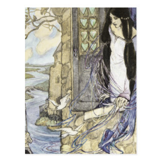 The Lady of Shalott, Postcard