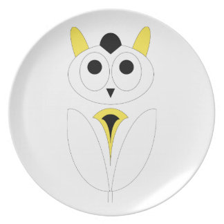 The Lady Owl Plate