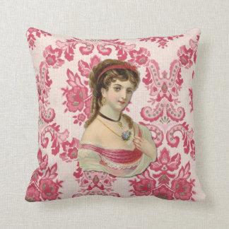The Lady Throw Cushion