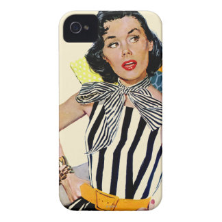 The Lady Was Insulted iPhone 4 Case-Mate Cases