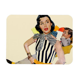 The Lady Was Insulted Rectangular Photo Magnet