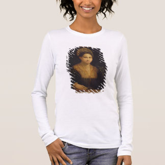 The Lady with the Green Turban Long Sleeve T-Shirt