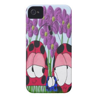 The Ladybug Family ~ iPhone 4 Case