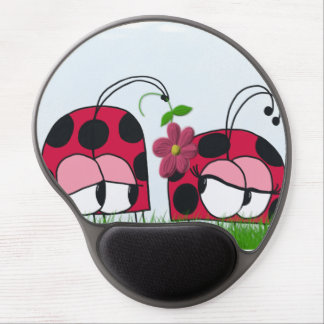 The Ladybug Wooing His New Love Gel Mousepad