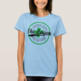 The Lagan - Baseball Ladies T-Shirt