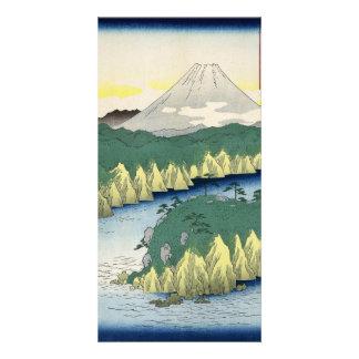 The Lake in Hakone Photo Card Template