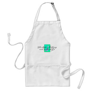 The Lake is Calling I Must Go Standard Apron