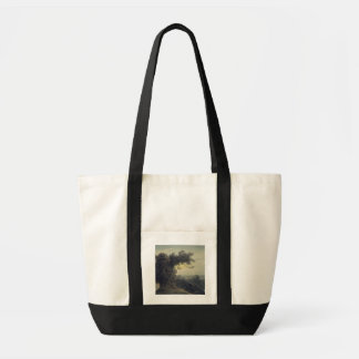 The Lake of Albano and Castle Gandolfo, c.1783-85 Tote Bag