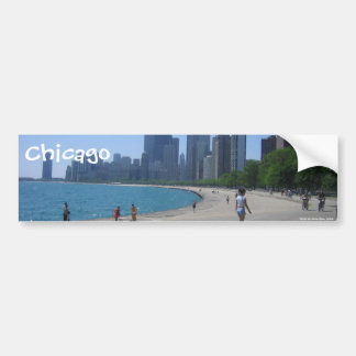 The Lakeshore, Chicago, IL, Chicago, Photo by A... Bumper Stickers