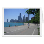The Lakeshore, Chicago, IL Greeting Cards