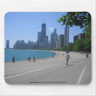 The Lakeshore, Chicago, IL Mouse Pad