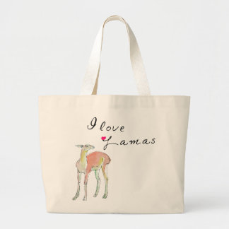 The Lama illustration Canvas Bag