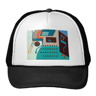 The Lamed Letter - Hebrew alphabet Mesh Hat