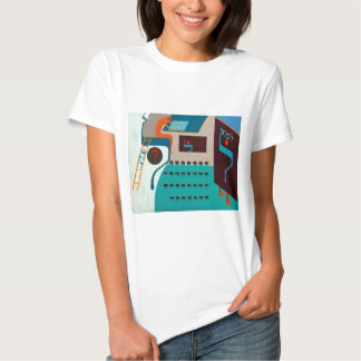 The Lamed Letter - Hebrew alphabet Tshirts