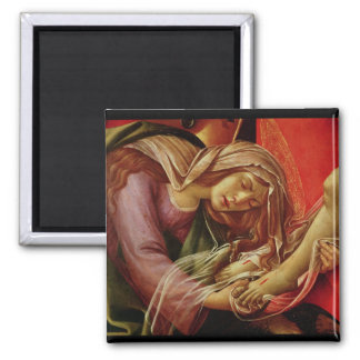 The Lamentation of Christ Square Magnet