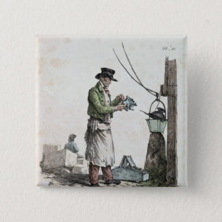 The Lamplighter 15 Cm Square Badge
