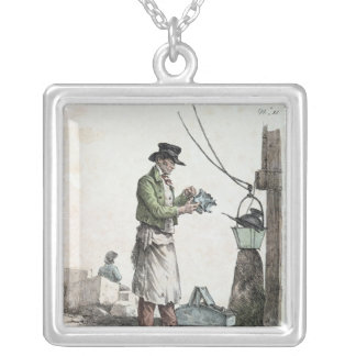 The Lamplighter Silver Plated Necklace