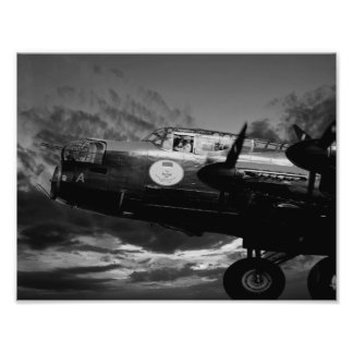 The Lancaster In Mono Photo Art