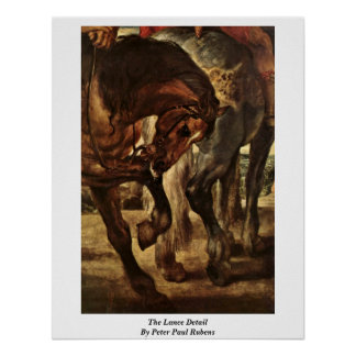 The Lance Detail By Peter Paul Rubens Posters