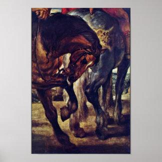 The Lance Detail By Rubens Peter Paul Print