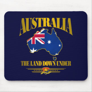 """""""The Land Down Under"""" Mouse Mat"""