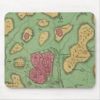 The Land Of Moriah Or Jerusalem Mouse Pad