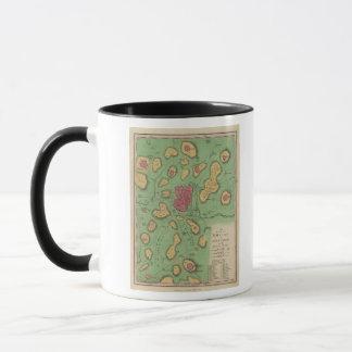 The Land Of Moriah Or Jerusalem Mug