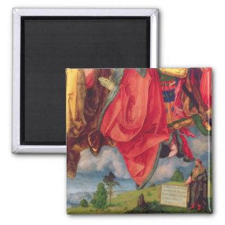 The Landauer Altarpiece, All Saints Day, 1511 2 Square Magnet