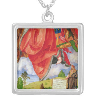 The Landauer Altarpiece, All Saints Day Silver Plated Necklace