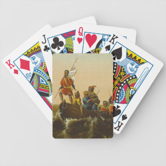 The Landing of Columbus, c.1837 (oil on canvas) Bicycle Playing Cards