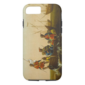 The Landing of Columbus, c.1837 (oil on canvas) iPhone 7 Case