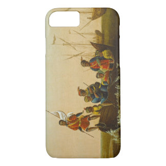 The Landing of Columbus, c.1837 (oil on canvas) iPhone 8/7 Case