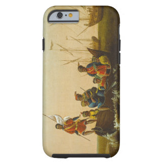 The Landing of Columbus, c.1837 (oil on canvas) Tough iPhone 6 Case