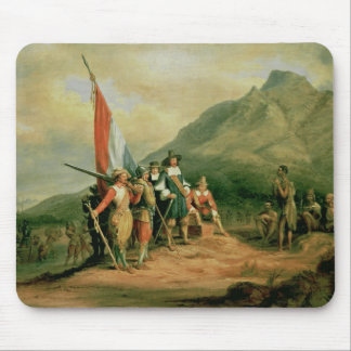 The Landing of Jan van Riebeeck Mouse Pad